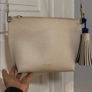 Kate Spade Purse - Tan and Blue - New